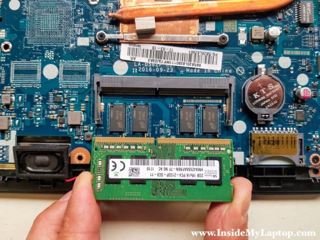 Remove memory module