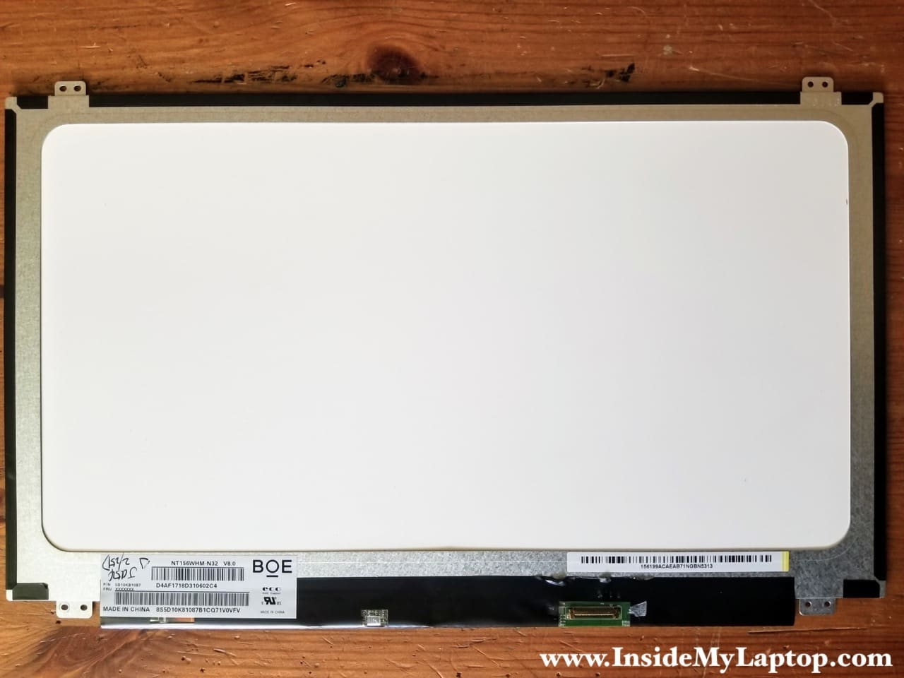 How to disassemble Lenovo ideapad 110-15ISK model 80UD – Inside my