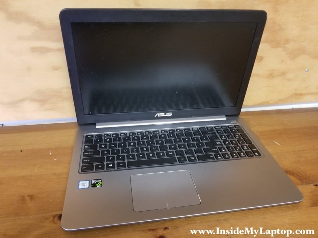 How to disassemble Asus K501U laptop
