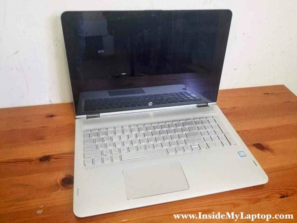 HP ENVY x360 Convertible PC 15-aq155nr disassembly