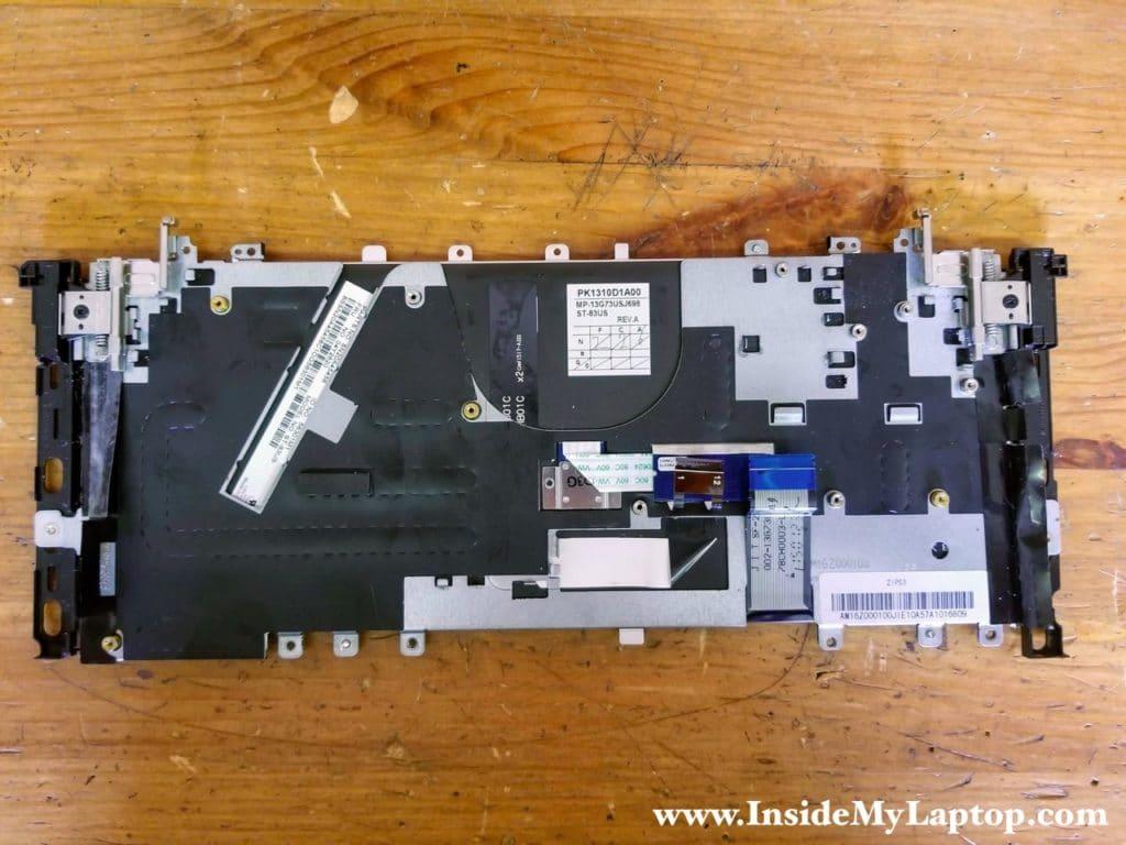 In my Lenovo ThinkPad Yoga 12 the keyboard FRU is 04Y2620.