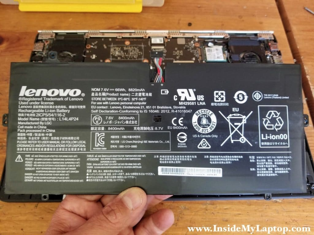 Unplug the battery from the motherboard and remove the battery.