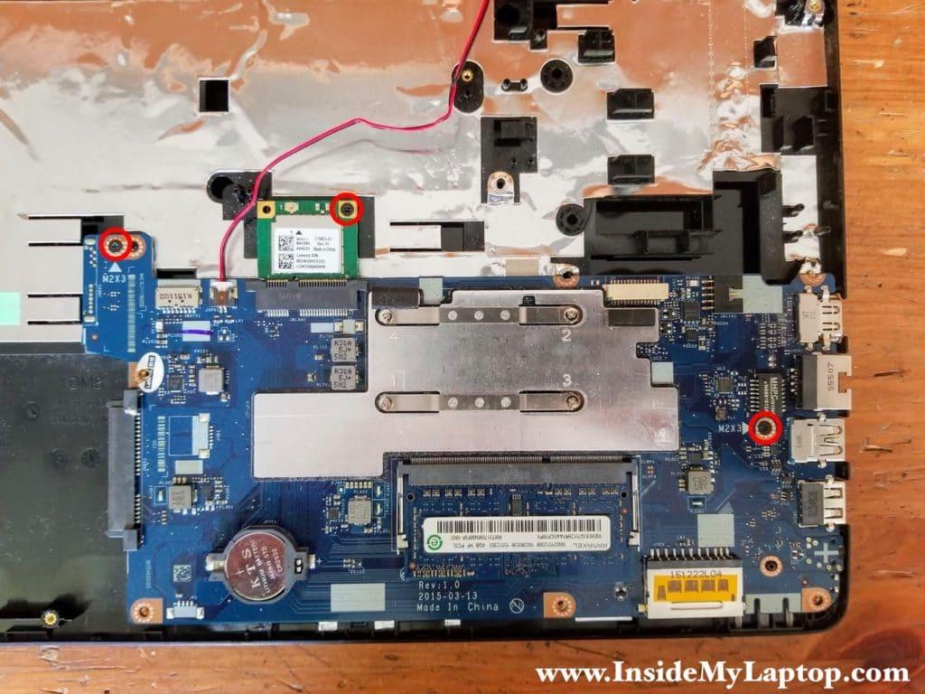 Lenovo ideapad 100-14IBY motherboard.
