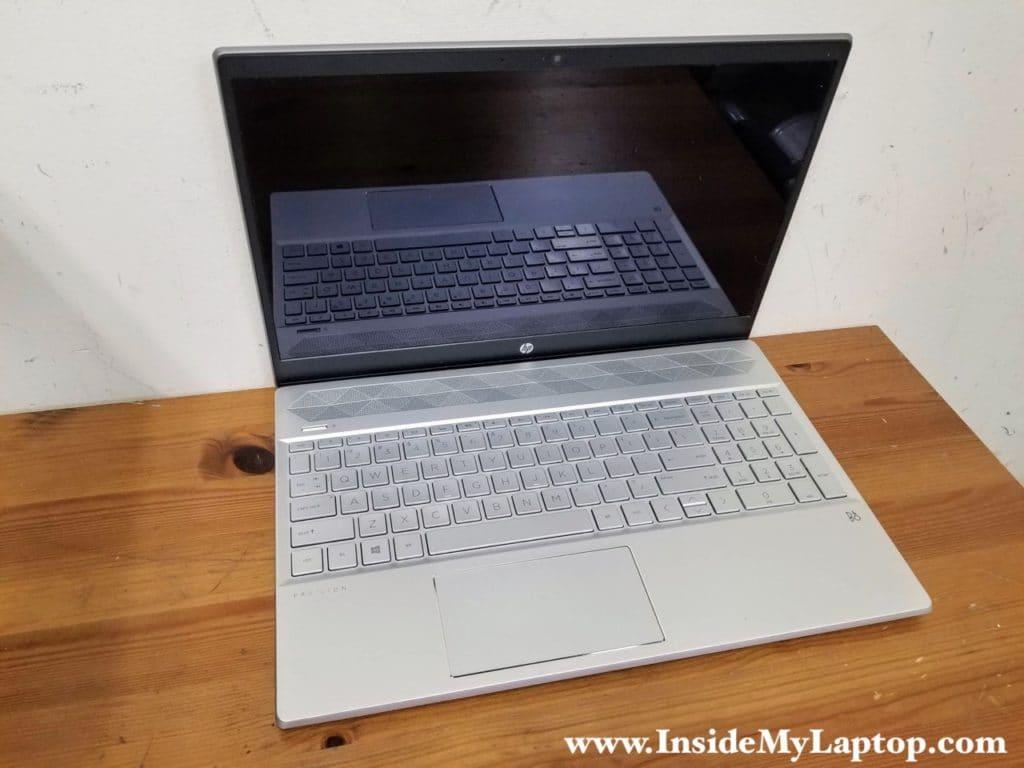 How to disassemble HP Pavilion 15-CS series laptop.