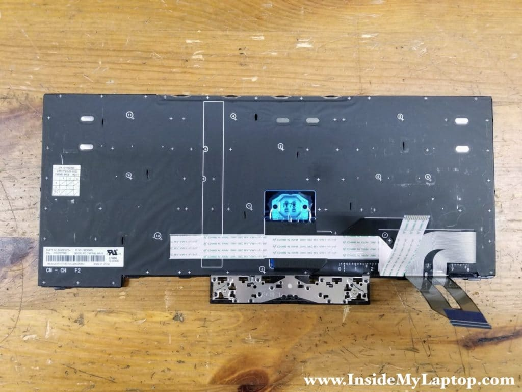 Lenovo ThinkPad E490 E495 keyboard FRU part number (English): 01YP240.