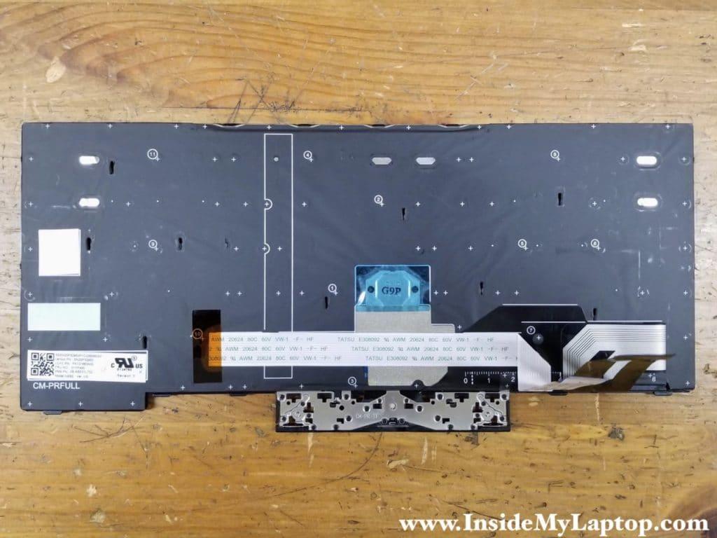 Lenovo ThinkPad L480 keyboard FRU P/N (US model): 01YP400.