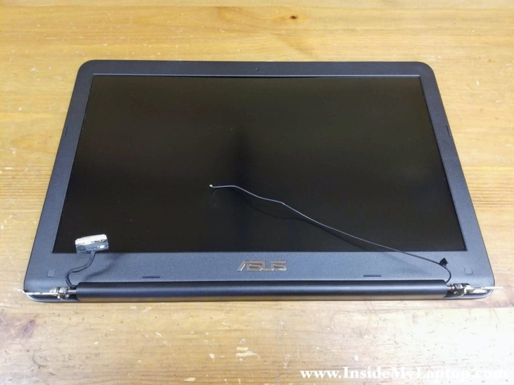 How to replace LCD screen on Asus F556U F555L series laptop.