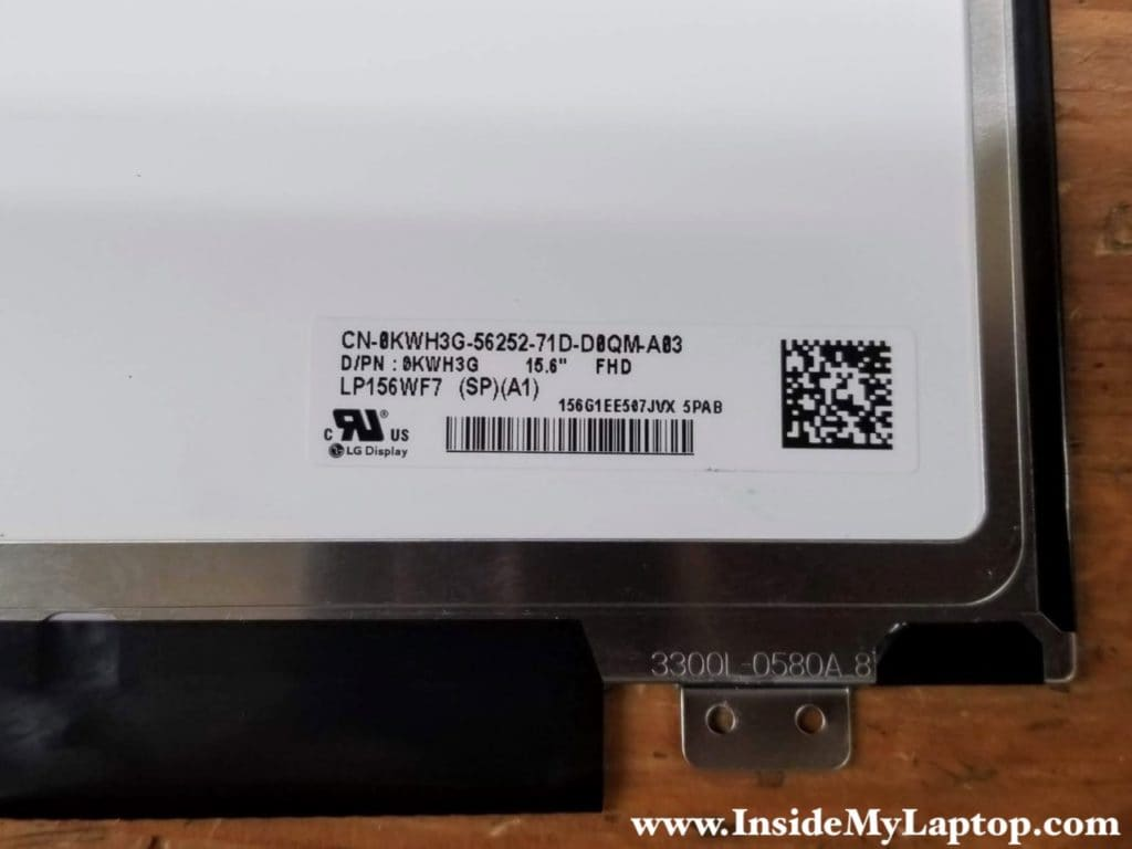 You can find a new replacement screen if you search by the screen model LP156WF7(SP)(A1) or Dell part number 0KWH3G.